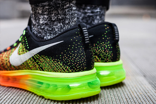nike flyknit air max roze