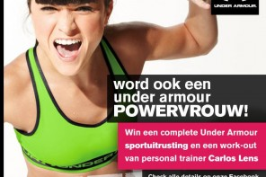 Winactie: Under Armour #POWERVROUWEN