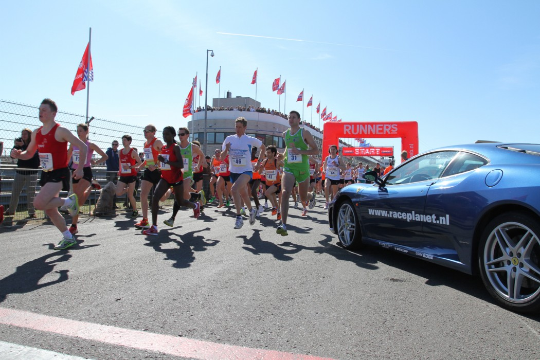 Start Runner's World Zandvoort Circuit Run