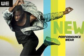 WE lanceert performance wear voor mannen