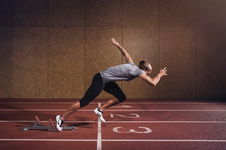 Met de Nike Zoom Superfly Elite gaat Dafne voor goud