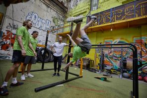 Calisthenics Amsterdam x Herbalife workout